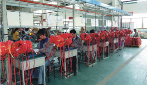 production-line-power-cord